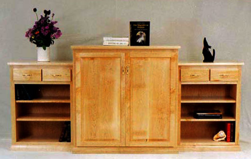 maple cabinet kitchens johns furniture amp cabinets bookcases 3995